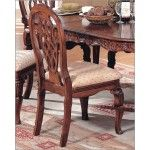 $213.60  McFerran Home Furnishings - Traditional Dining Chair in Light Cherry (Set of 2) - MCFD6712-CS