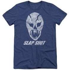 Slap Shot The Mask Adult Tri-Blend T-Shirt