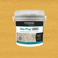 5.5-lb Gold Epoxy Grout StainMaster