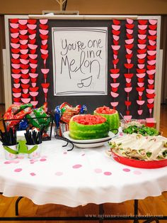 Night You Are One In A Melon A super fun theme for a LDS Relief Society dinner or enrichment night! You're One In A Melon watermelon theme is perfect for summer. Enrichment Activities, Church Activities, Easter Activities, Spring Activities, Sensory Activities, Dinner Themes, Party Themes, Ideas Party, Dinner Parties