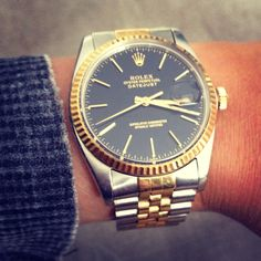 In ❤️!! Rolex oyster datejust!!vintage!!