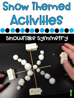 5 Snow Themed STEM Activities That Are Sure To Engage any student. Start off reading the science school yard blog that features ideas for you to add some engaging winter fun with or without snow that any kindergarten through fifth grade student would love! Get ideas, pictures, material lists, book connections and more! 5th Grade Science, Elementary Science, Elementary Teacher, Winter Activities, Science Activities, Winter Fun, Winter Theme, Snowflake Bentley, Science Stations