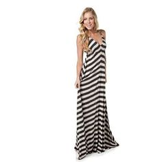 Eight Sixty Stripe Maxi Dress | Nordstrom Loving the green, too ...