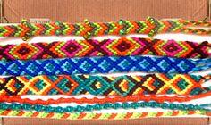 Armbandjes knopen Thread Bracelets, Childhood Memories, Loom, Knots, Jewelry Making, Crochet, How To Make, Teenage Years, Ibiza