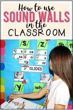 How to Start Using a Sound Wall in Your Classroom