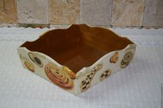 """Купить Короб """"Сладости"""" - хлебница, короб для кухни, кондитерская, пироженое, интерьер кухни, подарок"""