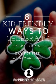 Need a few ideas for a low-cost, kid-friendly St. Patrick's Day celebration? We've got you covered with ideas for crafts and activities that are all either free or close to it. Whether you head to a parade or cook a traditional Irish recipe, your family is sure to enjoy celebrating this year. - The Penny Hoarder http://www.thepennyhoarder.com/st-patricks-day-activities-for-kids/
