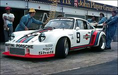 1976 An early version of the Porsche 935 at 6H of Silverstone (Jacky Ickx and Jochen Mass).