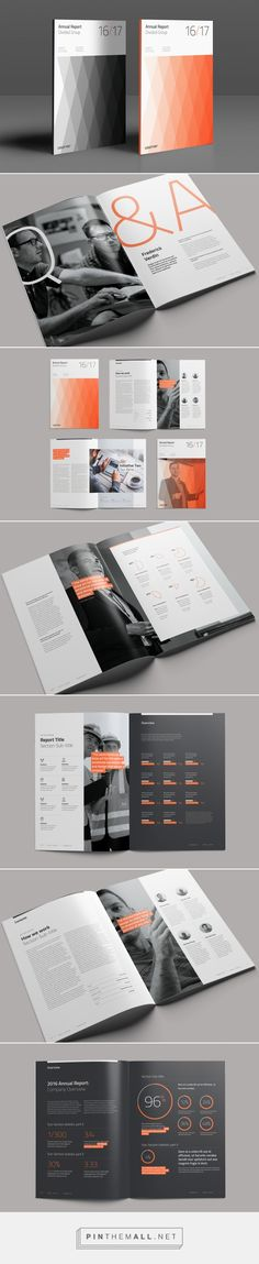 Divided Annual Report on Behance. - a grouped images picture Report Design, Catalog Design, Corporate Brochure, Magazine Design, Graphic Design Inspiration, Editorial Design, Layout Design, Divider, Behance