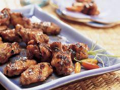 Alitas de Pollo a la Thai - QueRicaVida.com