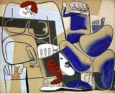 Fall of Barcelona, byLe Corbusier.