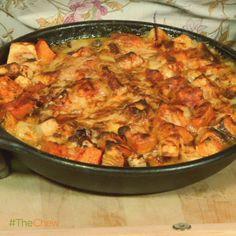 Nancy Fuller Ginsberg's Root Vegetable Bake #TheChew