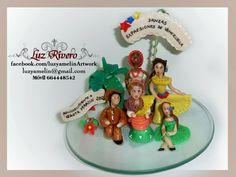 customized dolls in cold porcelain Danzas Expresiones de Venezuela