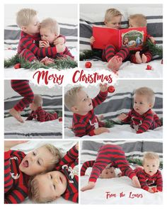 Sibling Christmas Pictures, Christmas Card Pictures, Xmas Photos, Family Christmas Pictures, Christmas Photo Cards, Christmas Baby, Christmas Pajamas, Toddler Christmas Photos, Christmas Ideas