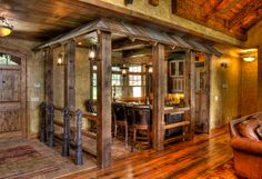 Gull Lake Bar - traditional - entry - minneapolis - by Lands End Development - Designers & Builders