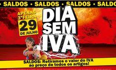 Hoje 29 de julho - Saldos - Dia sem Iva Média Markt