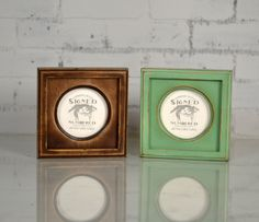 4x4 Circle Opening Picture Frame with Outside Cove Build up