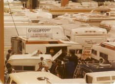 80's RV show...look how small the baby Grasshopper looks!!