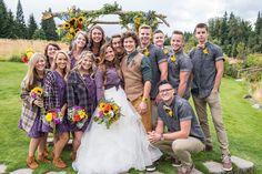 Rustic Oregon Mountainside Wedding