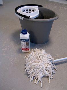 painting a basement floor
