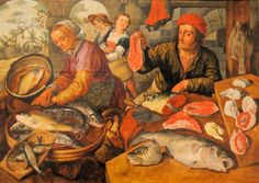 Le Marché aux poissons - Joachim Beuckelaer