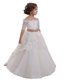 CoCoBridal Lace Flower Girls Dresses Girls First Communio... https://www.amazon.com/dp/B00S7GARJS/ref=cm_sw_r_pi_dp_rGEwxbW390GVQ