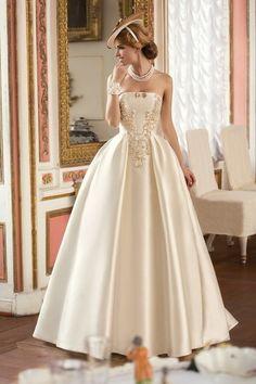 """Свадебное платье """"Уилла"""" Татьяны Каплун - купить в Москве платье Уилла из коллекции """"Леди оф кволити"""" #Bride#Wedding Dress#ウェディングドレス"""
