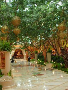 Inside Courtyard, The Wynn
