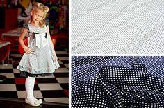 ткань в горошек для маленькой модницы. Классика и модный принт 2016-2017 - горох