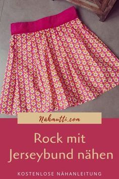 Sew skirt with jersey waistband-Rock mit Jerseybund nähen Ideal for sewing beginners! Near a skirt with jersey waistband. You do not need a pattern, but you can start right away. For girls in sizes - Sewing Dress, Sewing Clothes, Diy Clothes, Poncho Crochet, Couture Invisible, Next Jeans, Toddler Girl Style, Diy Couture, Clothing Hacks
