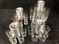 B52Maker_verschiedene_Gläser2 Silver, Red, Glass