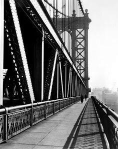 Manhattan Bridge, from the series Changing New York  1936 Berenice Abbott