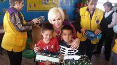 Nuevo Casas Grandes Paquimeitas #LionsClub (México) gave new shoes to over 100 children