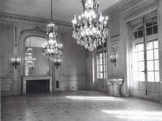 George J Gould mansion dining room, New York City