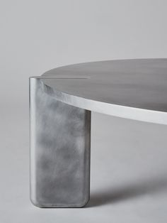New York studio Pelle has created a low table made from pieces of solid aluminium fixed together using traditional Japanese joinery techniques. Table Furniture, Furniture Design, Accent Furniture, Japanese Carpentry, Low Tables, Joinery, Decoration, Dining Table, Interior Design