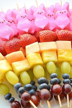 Peeps Fruit Kabobscountryliving