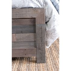Oscar Reclaimed Wood Bed by Kosas Home