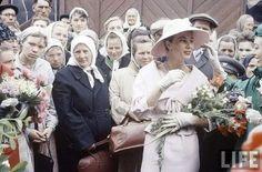 Журнал «Life». Показ мод дома Dior в Москве. 1959 г.