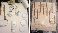 Cardboard and Plastic Recycling Idea Creating 3d Artworks for Wall Decoration