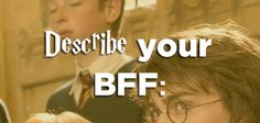 """Which """"Harry Potter"""" Duo Are You And Your BFF"""