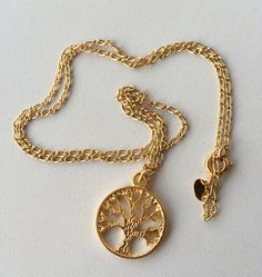 Tree of life necklace colar arvore da vida