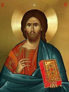 Icon orthodox Byzantine Icons, Son Of God, Orthodox Icons, Greek Gods, Christian Art, Holy Spirit, Jesus Christ, Christianity, Artwork