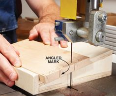 Bandsawn Dovetails Hand-cut appearance with half the fuss. By Seth Keller Purchase the complete version of this woodworking technique story from AWBookstore.com. If you've labored over handcut through dovetails, you'll be amazed how much faster they can be cut on the bandsaw. You get all the benefits, including strong joints, classic appearance, the ability to use boards of any thickness and the freedom to size and space the pins and …