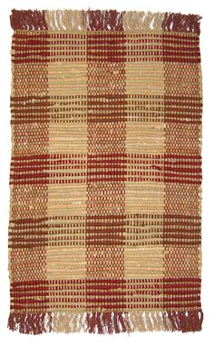 This flat weave Ragtime rug was made in India from Cotton Blend. This transitional style rag area rug features striped plaid patterns with red and beige colors.This rug is available at our warehouse. Please call one of. Farm Rugs, Country Style Living Room, Rug Studio, Living Room Paint, Rug Material, Transitional Style, Red Rugs, Beige Color