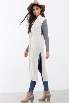 Harper Long Line Sweater VestHarper Long Line Sweater Vest | My ...