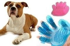 $4.99 (62% off) for Pet Grooming Bath Massage Glove Brush for CATS & DOGS. Free Shipping