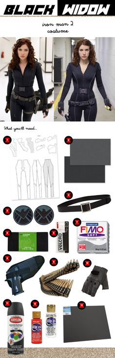 Black Widow Costume Diy Widow Costume Diy quality Black Widow costume from Iron Man 2 tutorial (ish) .Movie quality Black Widow costume from Iron Man 2 Tutorial (ish) Comic Con Cosplay, Marvel Cosplay, Cosplay Diy, Cosplay Outfits, Halloween Cosplay, Best Cosplay, Cosplay Ideas, Marvel Halloween Costumes, Avengers Costumes