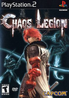 Chaos Legion - PlayStation Duke it out melee-style in a grand war to save the world. Playstation 2, Xbox One, Juegos Ps2, Ps Vita Games, Chaos Legion, Video Game Cakes, Arcade Console, Video Game Collection, Game Art