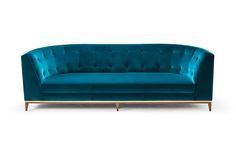Talay Three Seat Sofa - Amy Somerville General Info This diva sofa's striking curves are memorable from every angle. With a tailored sophisticated glamour its seductive presence is remarkable as a duet or solo.  Upholstered using traditional methods including hand-tied springs and a strong internal beach frame.