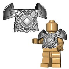 NEW Lego Castle Minifig VIKING HELMET Black Silver w//White Spiked Weapon Horns